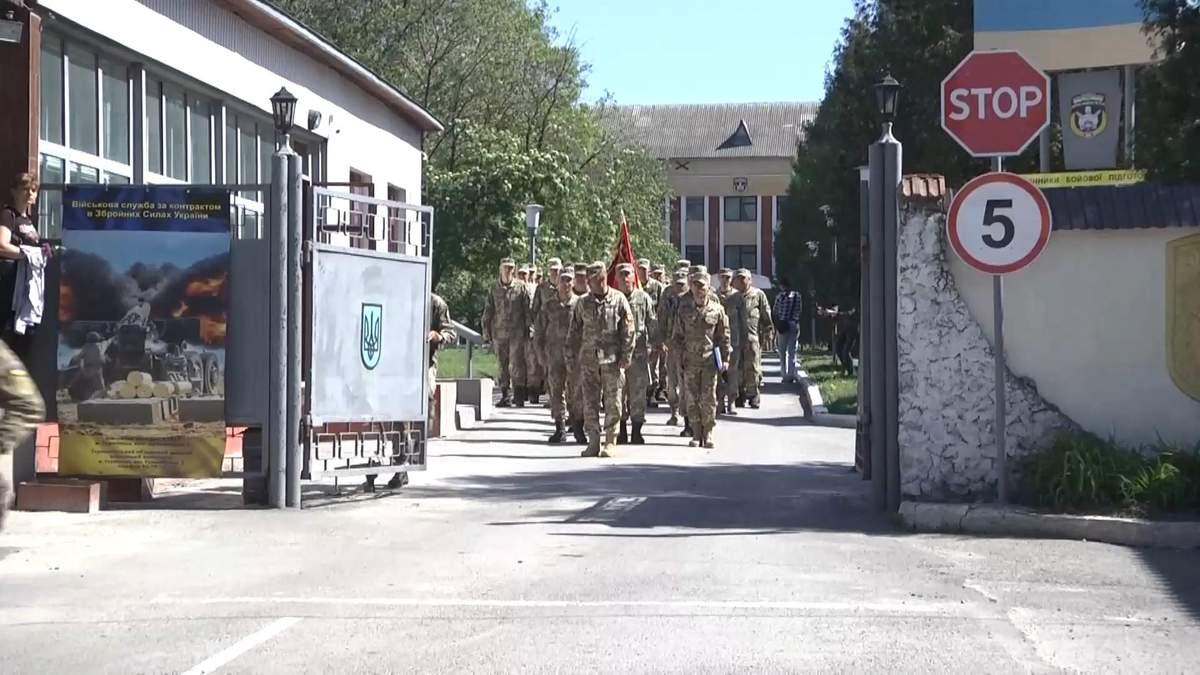 С Востока вернулись бойцы 44 отдельной артиллерийской бригады
