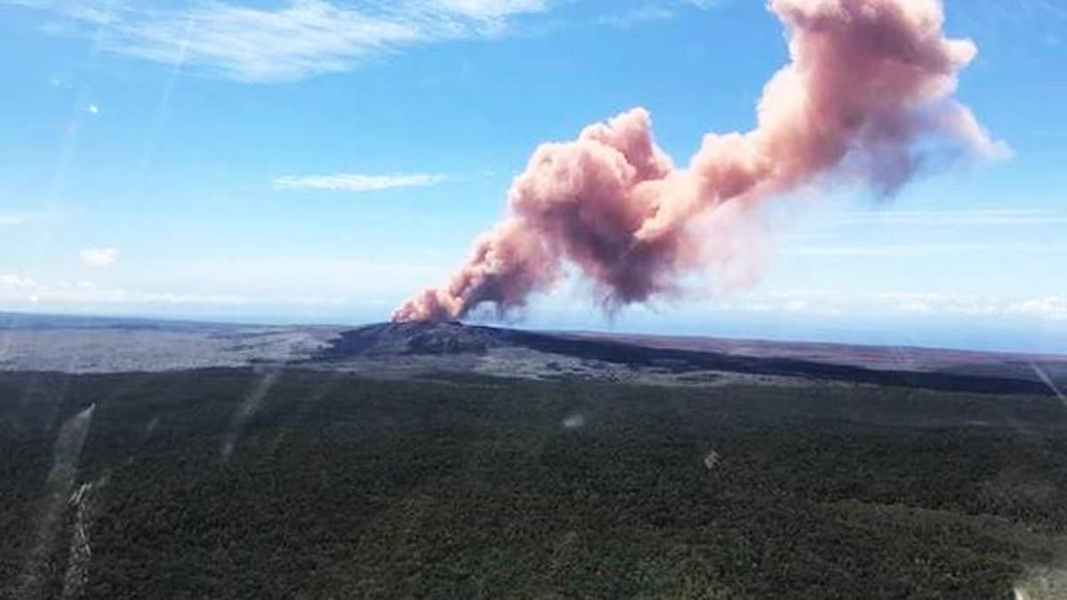 Виверження вулкану на Гаваях 2018