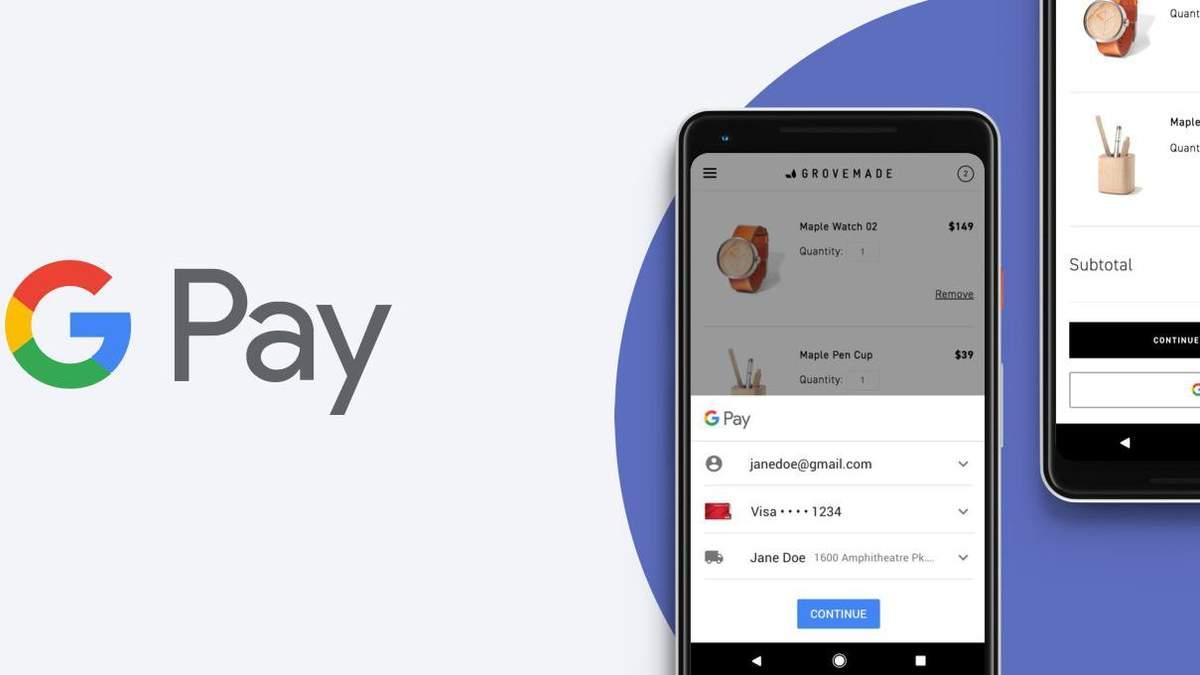 Google Pay заработал в браузерах Safari, Firefox и на iOS