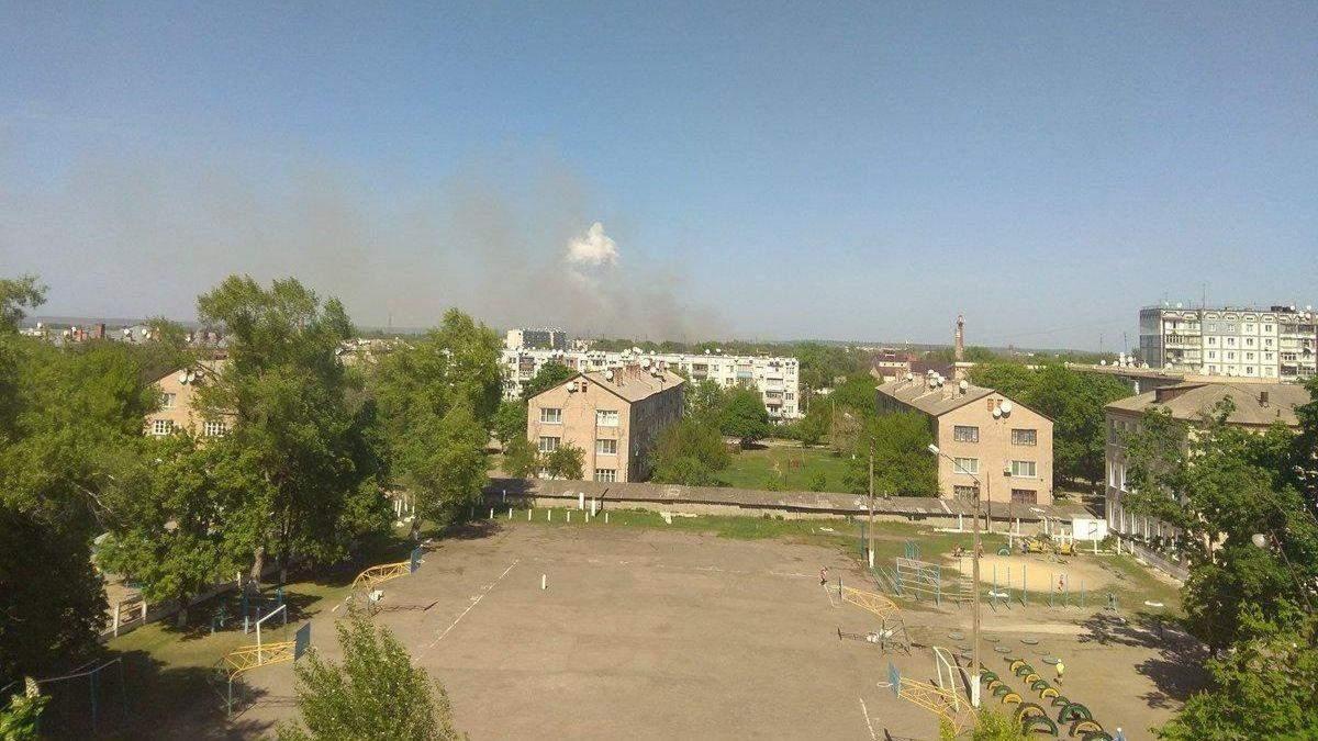 Пожежа на військових складах у Балаклії: у ДСНС відзвітували про поточну ситуцію