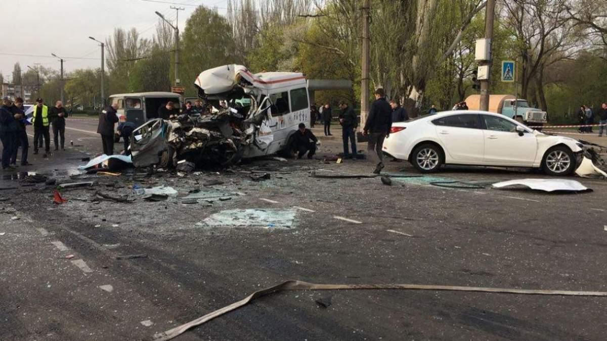 Смертельна ДТП у Кривому Розі: підозрюваний водій легковика помер у СІЗО