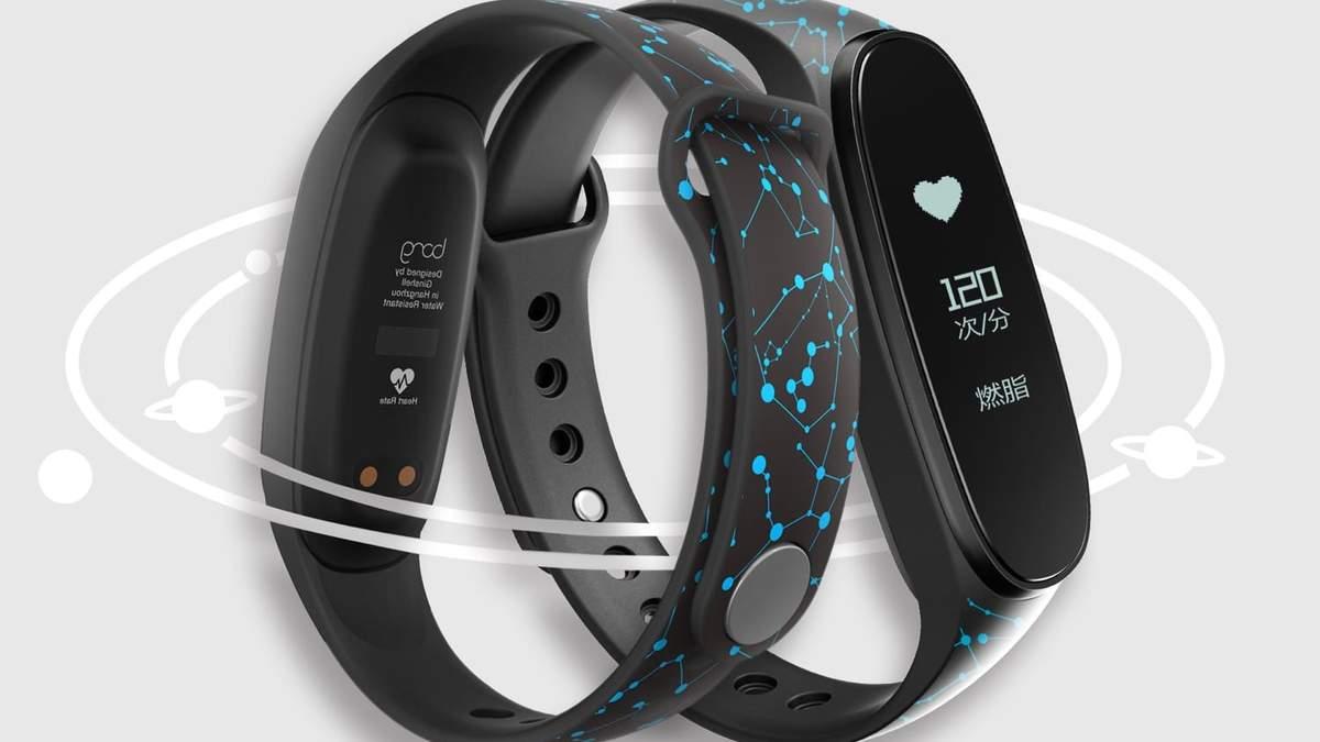 Дизайн нового фитнес-трекера Xiaomi Mi Band 3