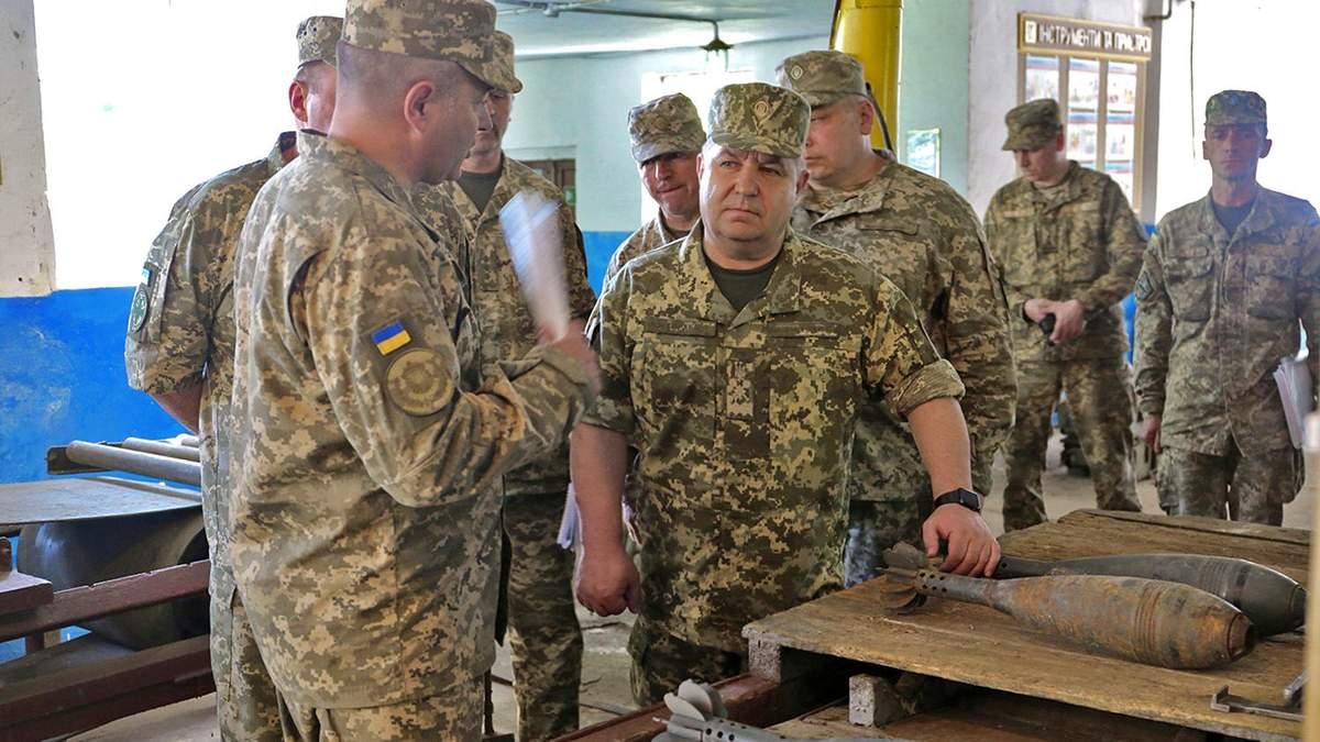 В Україні планують збудувати 15 сховищ для зберігання боєприпасів та ракет