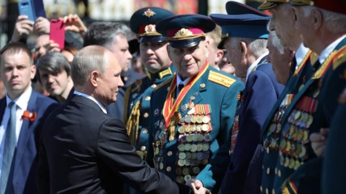 У Путина прокомментировали грубость в отношении ветерана после парада победы