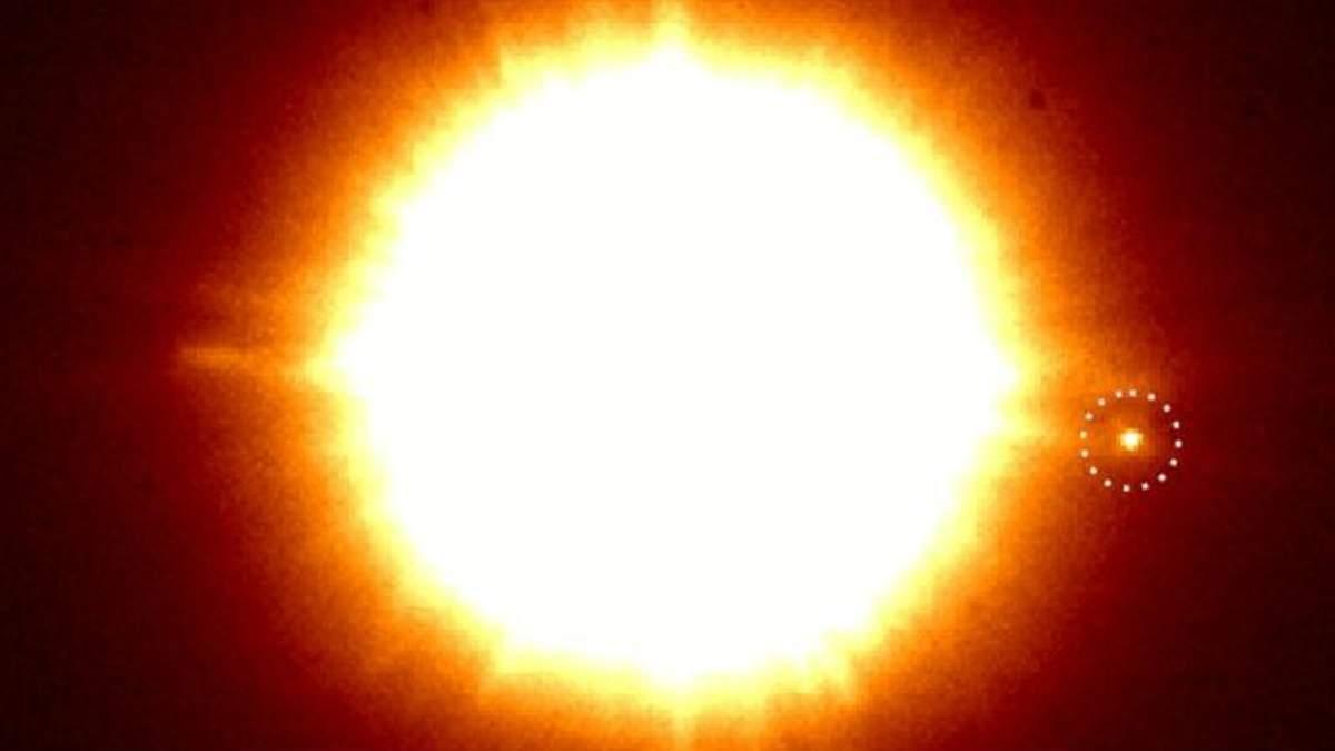 Астрономи випадково зробили знімок молодої екзопланети