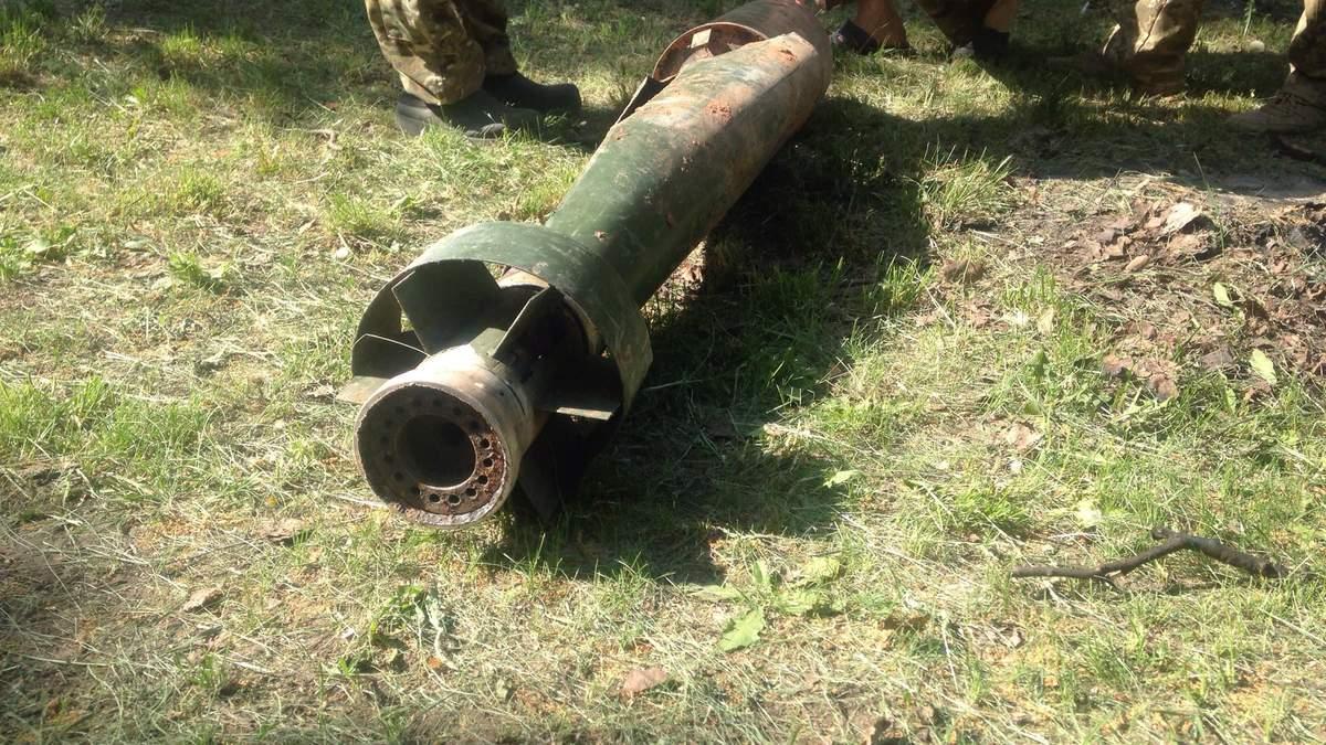 Пророссийские боевики осуществляют обстрелы из неизвестного оружия