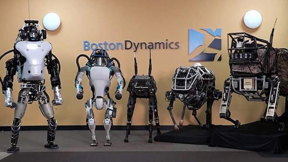 Boston Dynamics продемонструвала нові можливості власних роботів