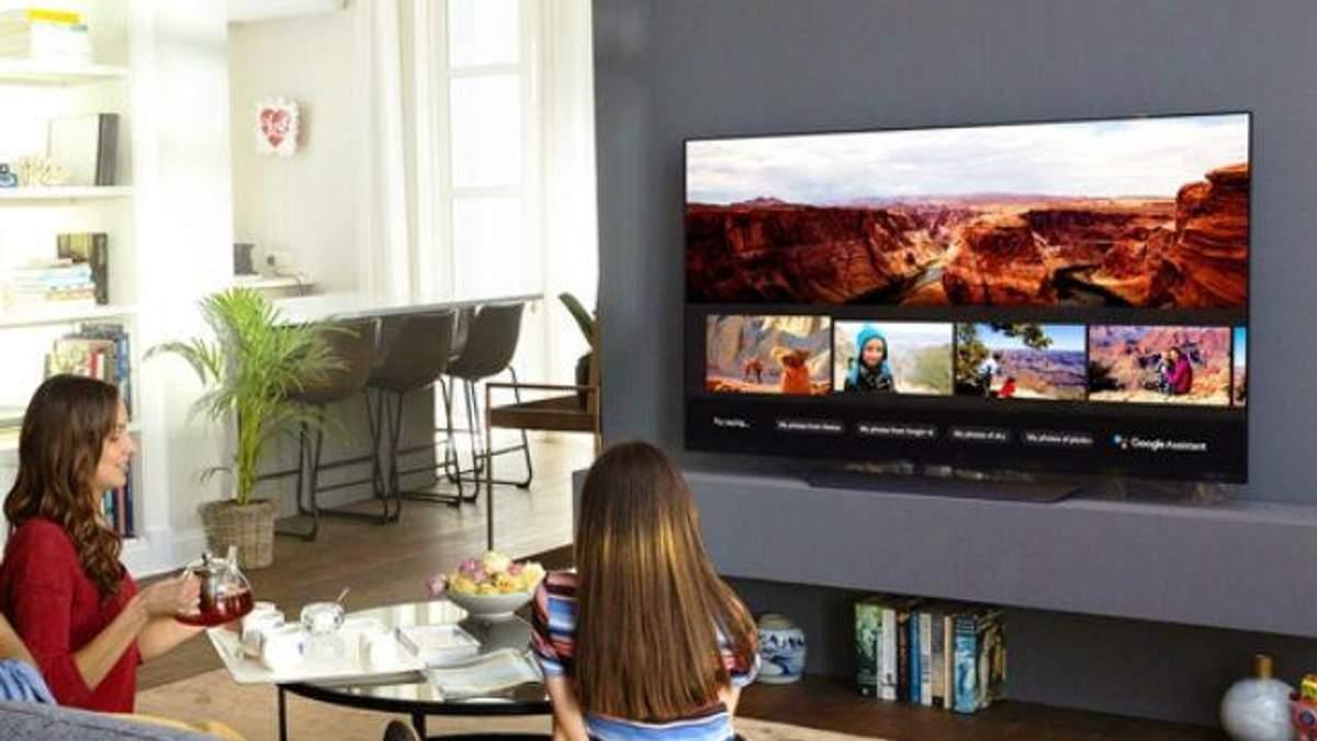 Телевізори LG з голосовим помічником Google Assistant