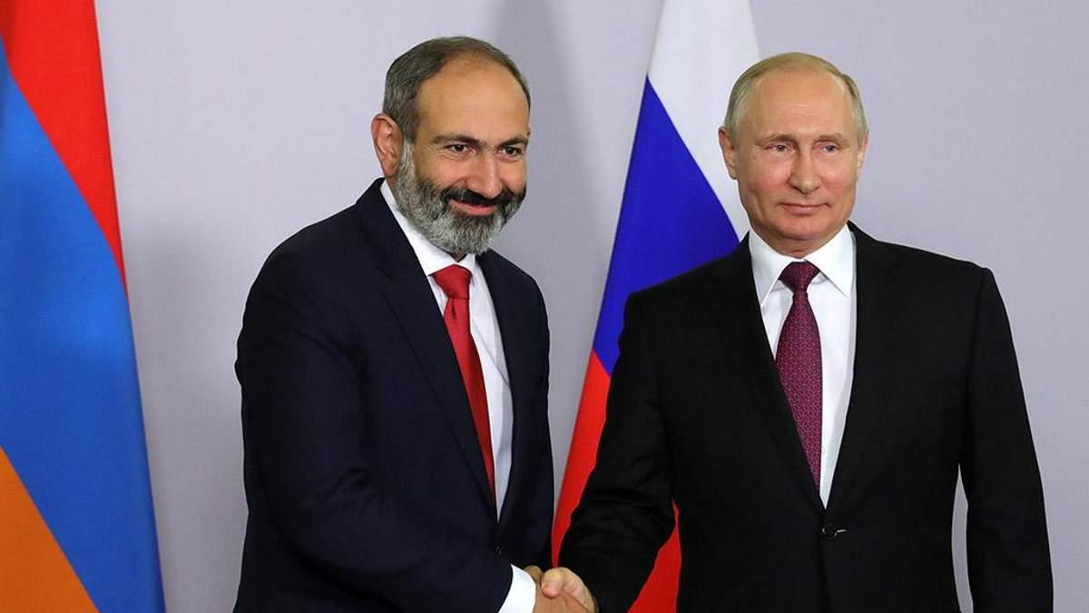 Новообраний прем'єр Вірменії хоче тісніших військових зв'язків із Росією
