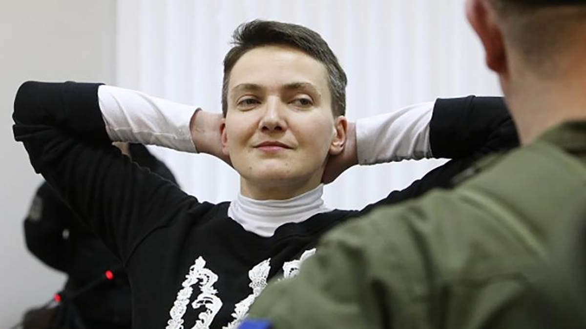 Савченко сообщила, чем занимается в СИЗО