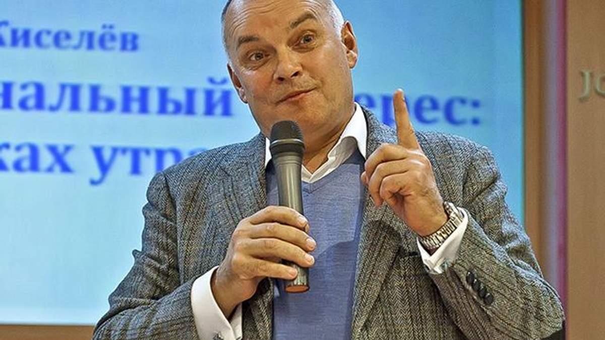 Пропагандист Киселев пригрозил Украине ОБСЕ из-за задержания российского журналиста