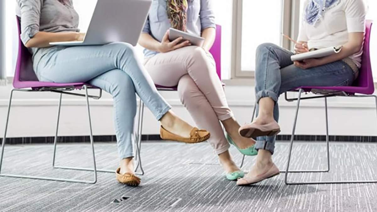 Закидання ноги на ногу небезпечне для здоров'я