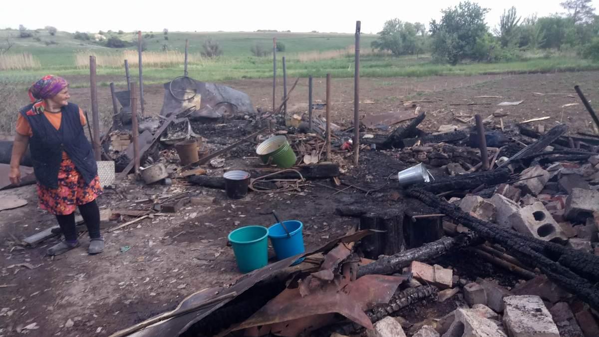 Пророссийские боевики обстреляли мирных жителей Зайцево