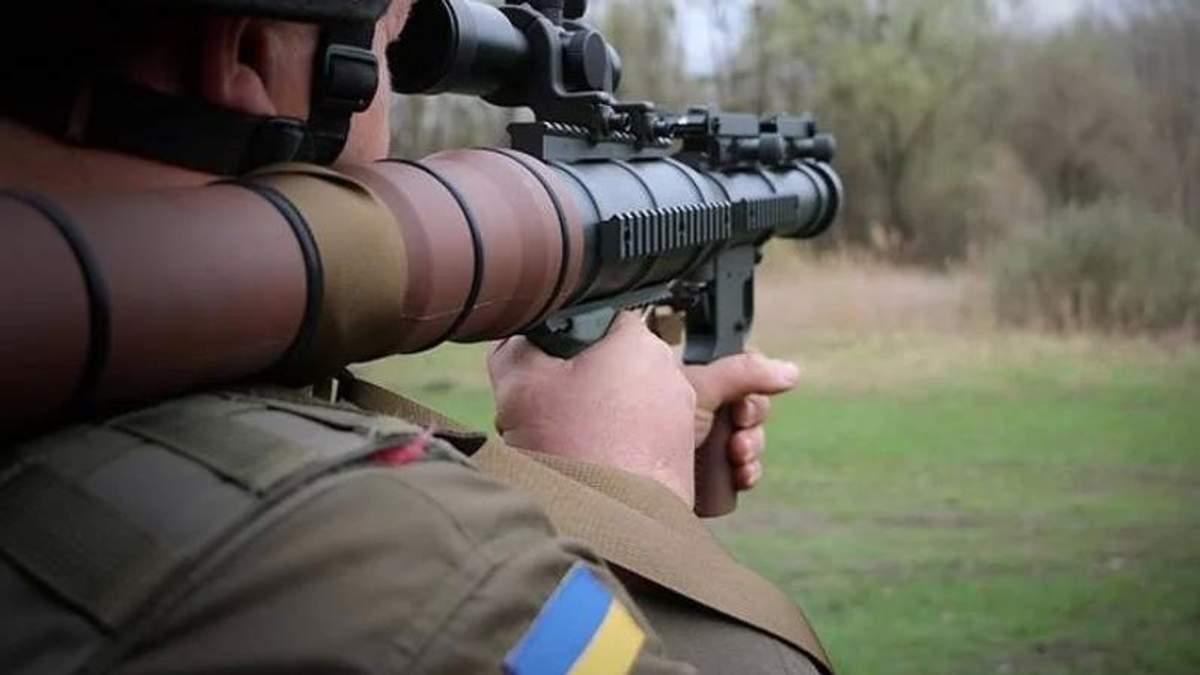 Нацгвардія отримала на озброєння 500 гранатометів із США