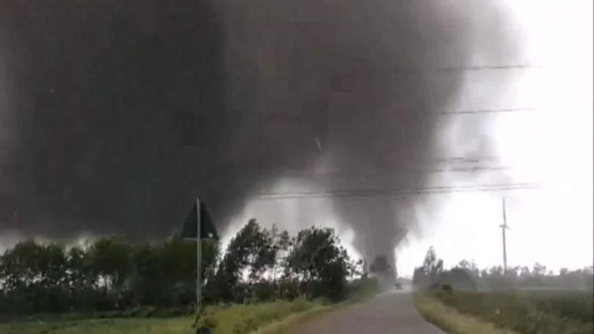 В Германии бушевал торнадо