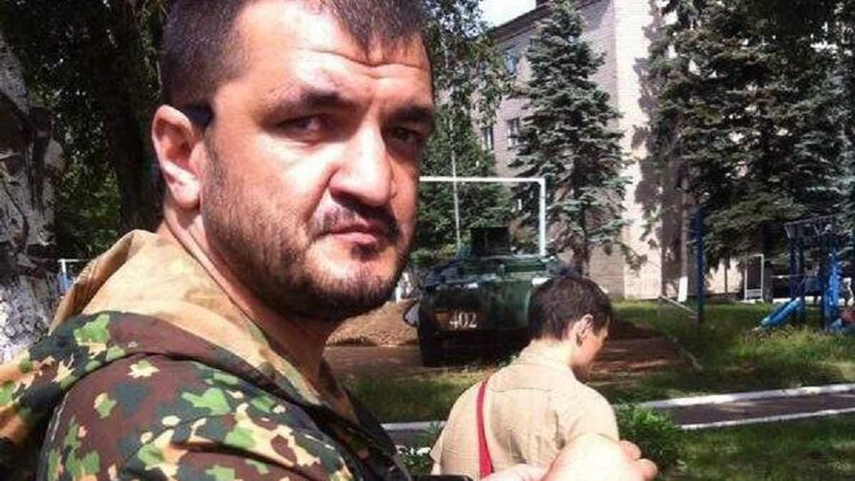 На Донбассе ликвидировали командира пророссийских боевиков