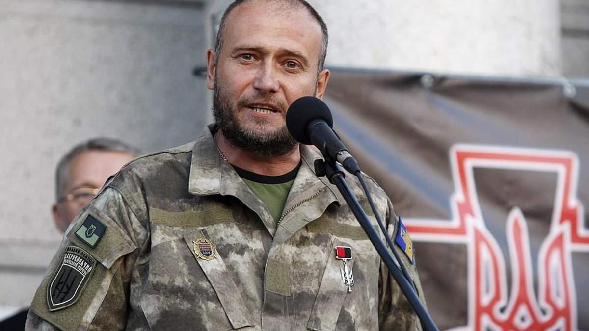 """Ярош назвал имена тех, кто ликвидировал главаря боевиков """"Мамая"""" на Донбассе"""