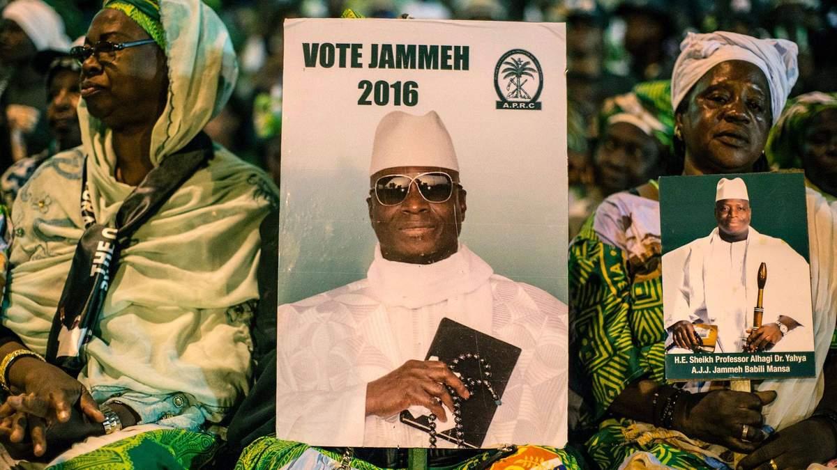 Яхья Джамме – бывший президент Гамбии