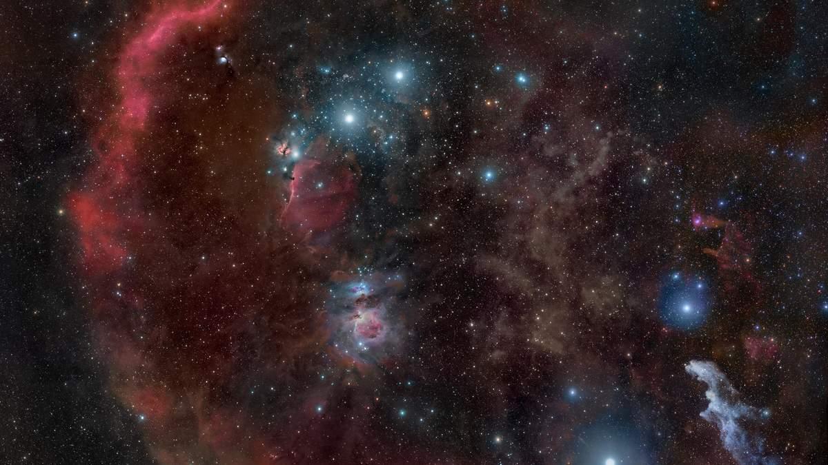Молекулярное облако Ориона