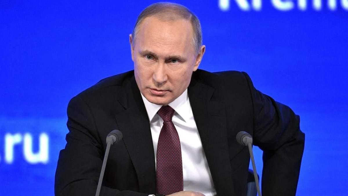 Путін прокоментував затримання Вишинського в Україні