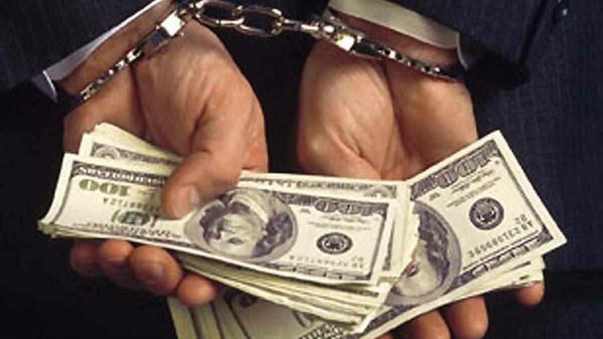 В Днепре на взятке поймали начальника районного отделения Нацполиции