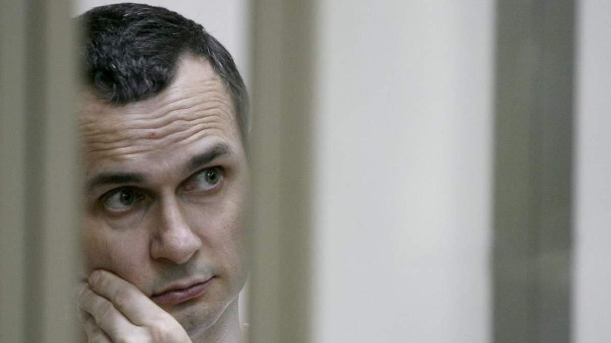 Не вірить у своє звільнення: Сенцов хоче померти заради інших бранців Кремля