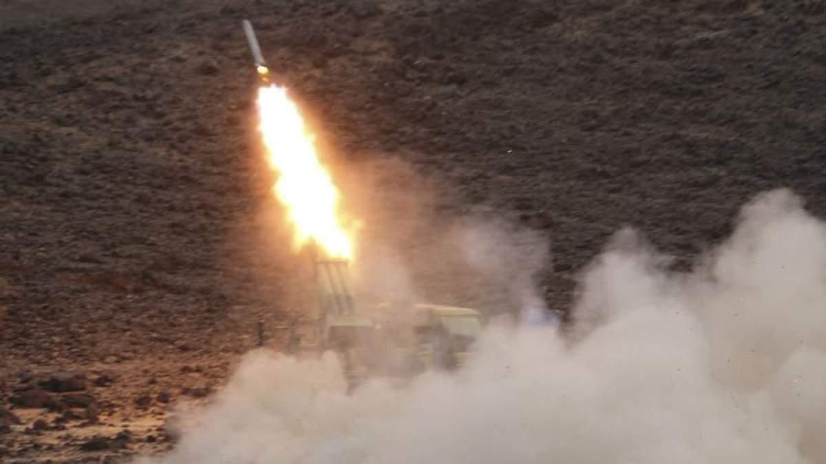 Повстанці-хусити з території Ємену випустили дві балістичні ракети по Саудівській Аравії (ілюстративне фото)