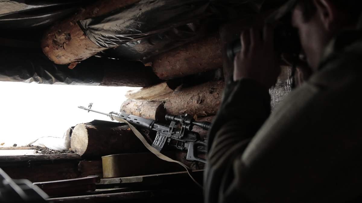 Сержант Володимир Костюк жертвував своїм життям, в результаті чого було знищено снайперську пару бойовиків на Донбасі (ілюстративне фото)