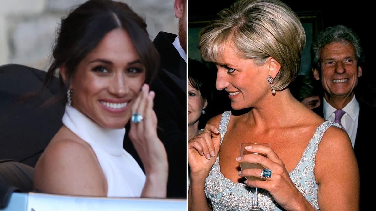 Меган Маркл одягнула перстень принцеси Діани