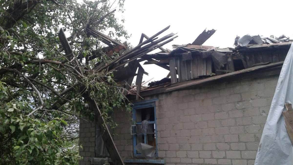 За сутки пророссийские боевики дважды обстреляли Зайцево