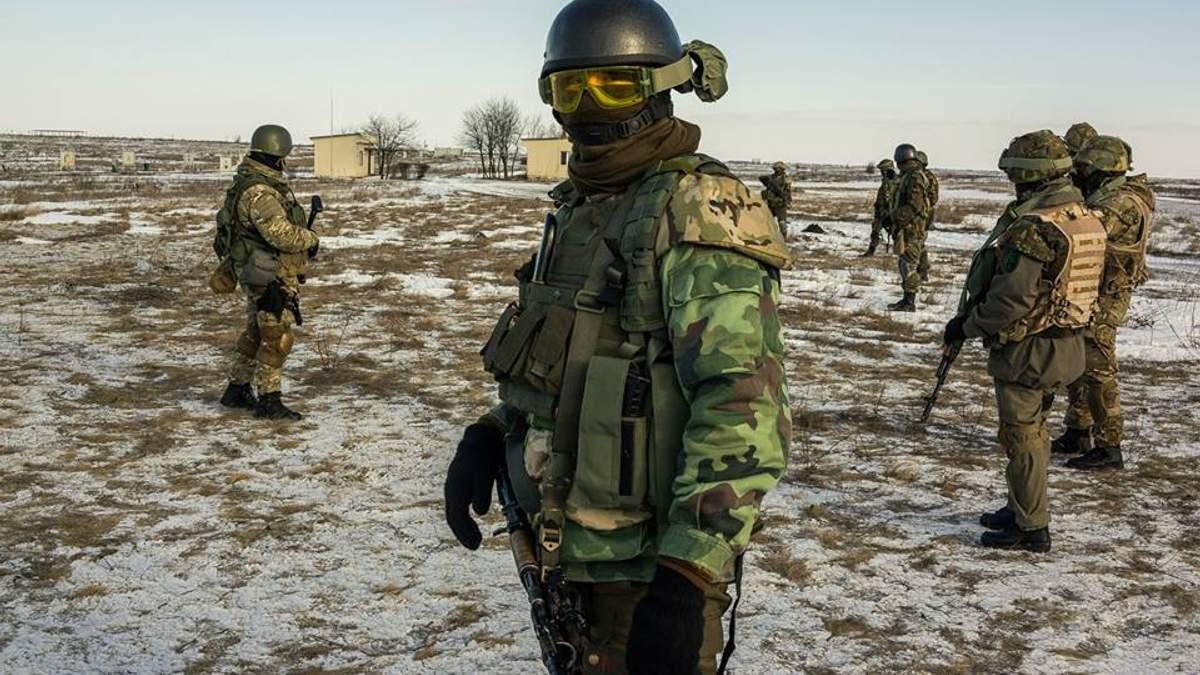 На Донбассе украинские военные взяли в плен трех боевиков: фото