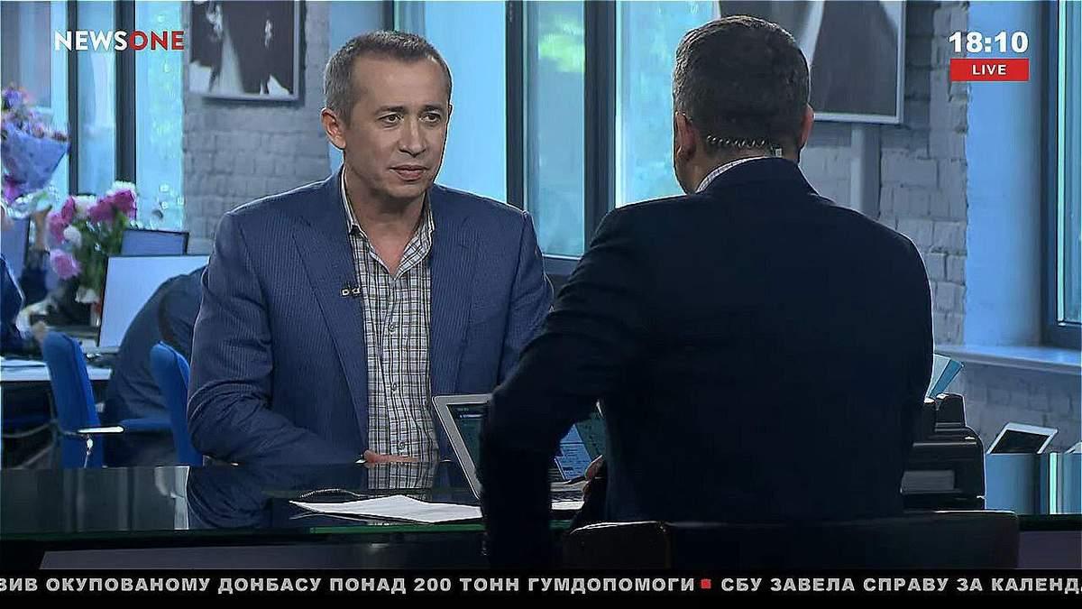 Загід Краснов в ефірі телеканалу NewsOne
