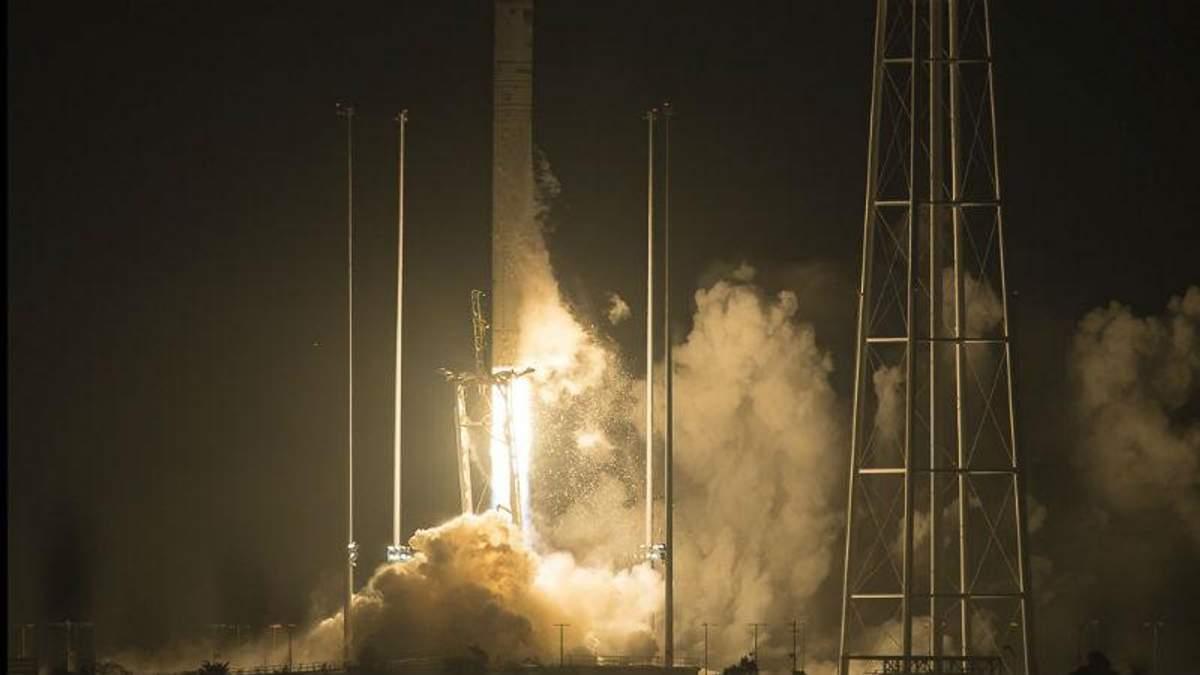 Запуск космического корабля Антарес