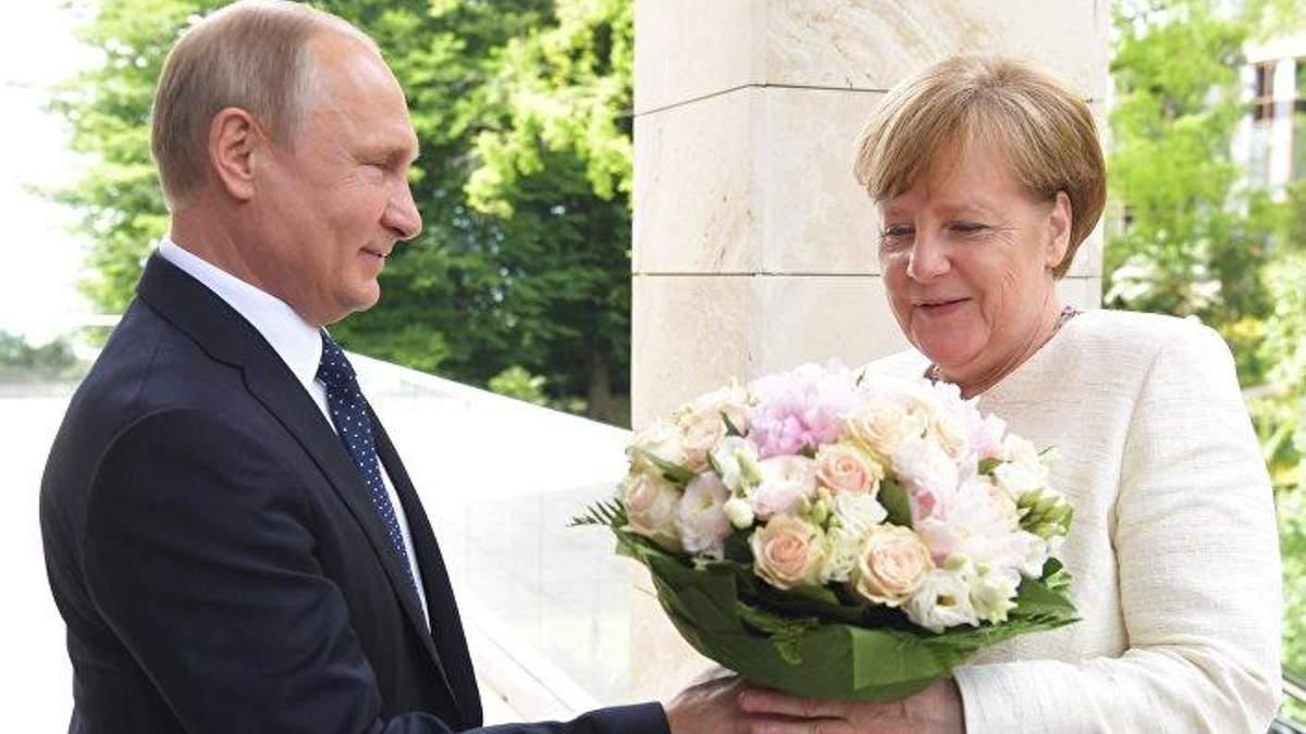 """Меркель висуватиме Путіну умови запуску """"Північного потоку-2"""""""