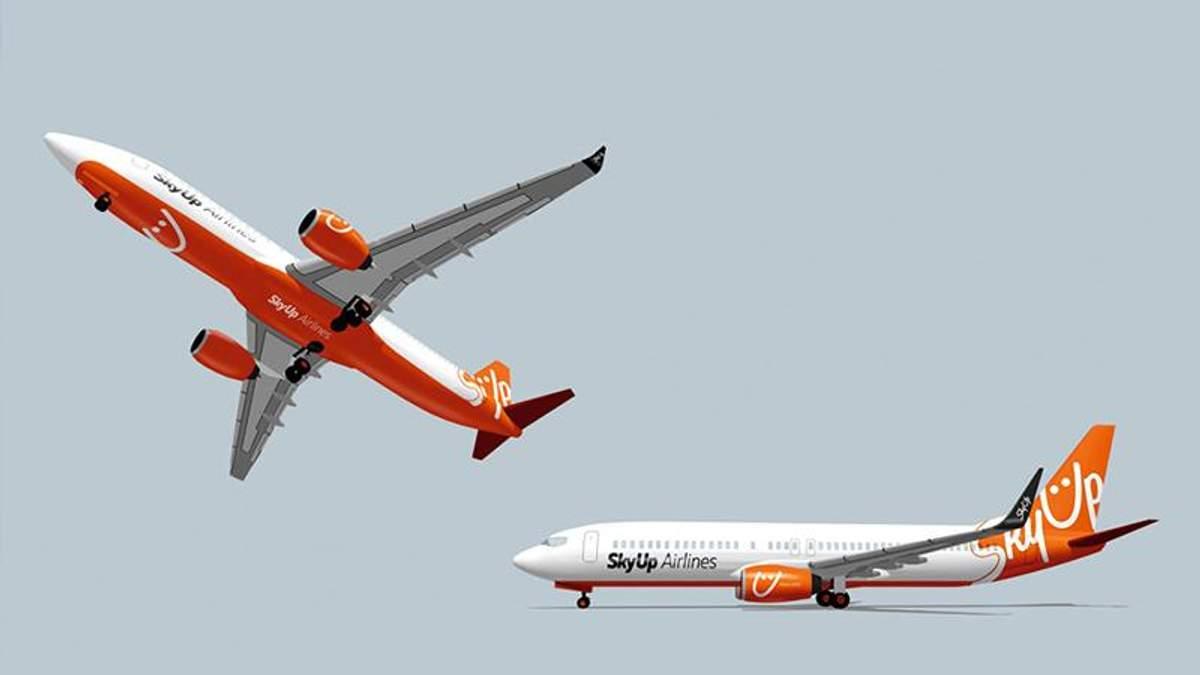 Новий український лоукостер SkyUp здійснив свій перший рейс