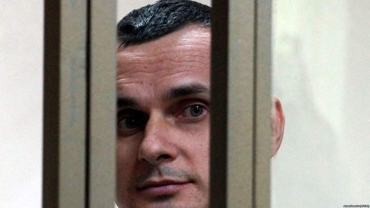 Сенцова перевели в одиночну камеру