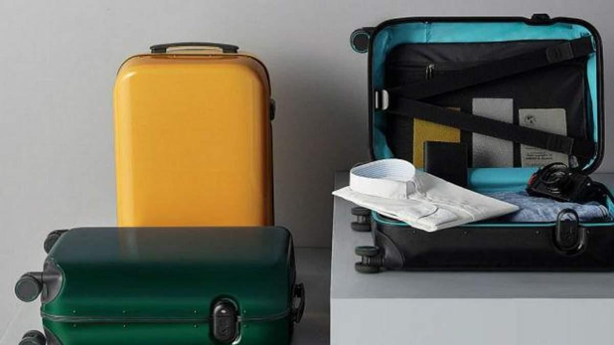 Xiaomi представила чемодан, который отпирается по отпечатку пальцев