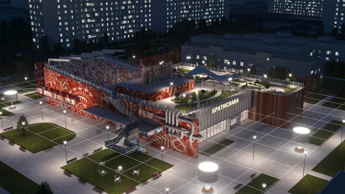 """Нове життя """"Братислави"""": як перетворити занедбану будівлю у корисний центр"""