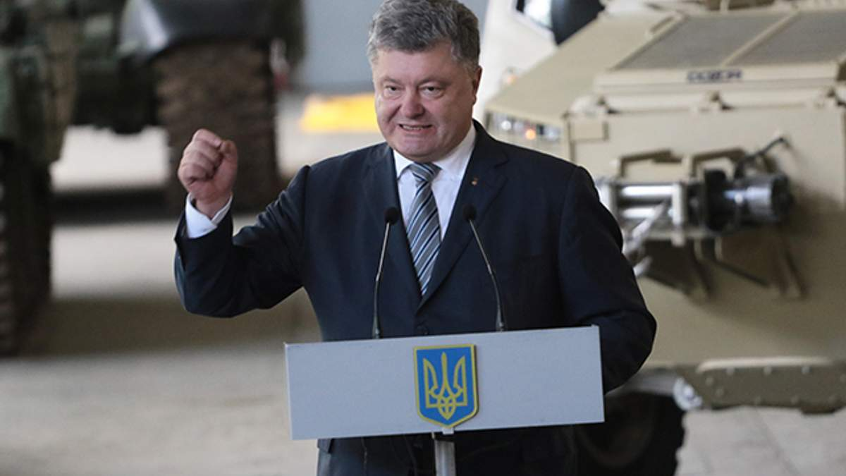 Порошенко одобрил переименование ВДВ