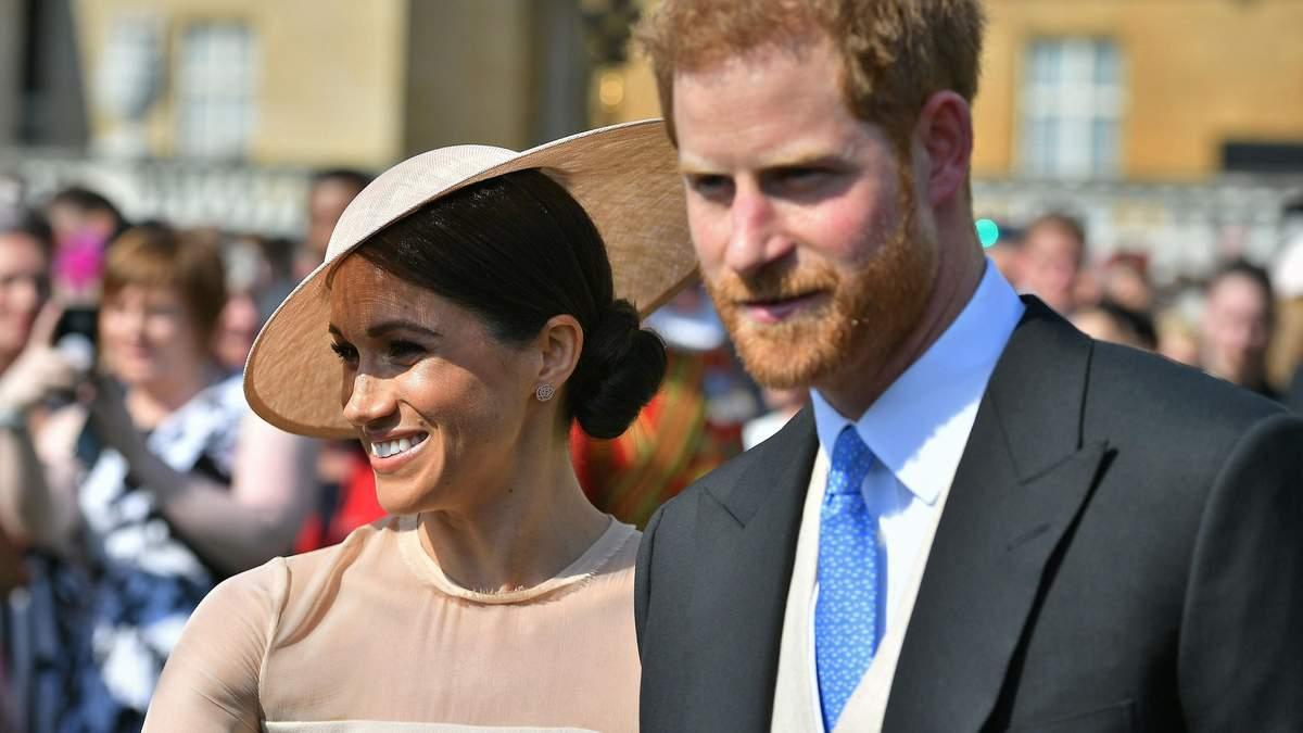 Меган Маркл і принц Гаррі на святкуванні 70-річчя принца Чарльза