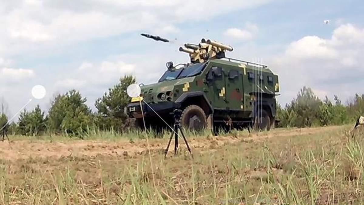 В Україні випробували новий бойовий модуль і зняли це на відео