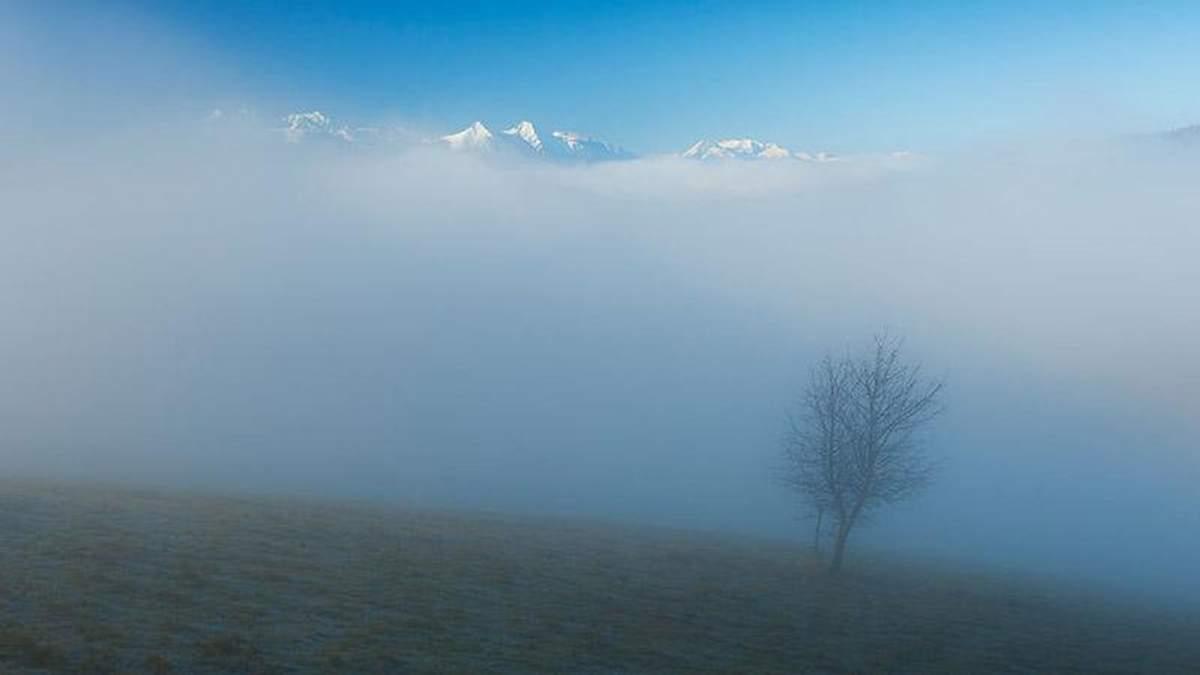 Польська туристка зробила серію дивовижних знімків Карпат