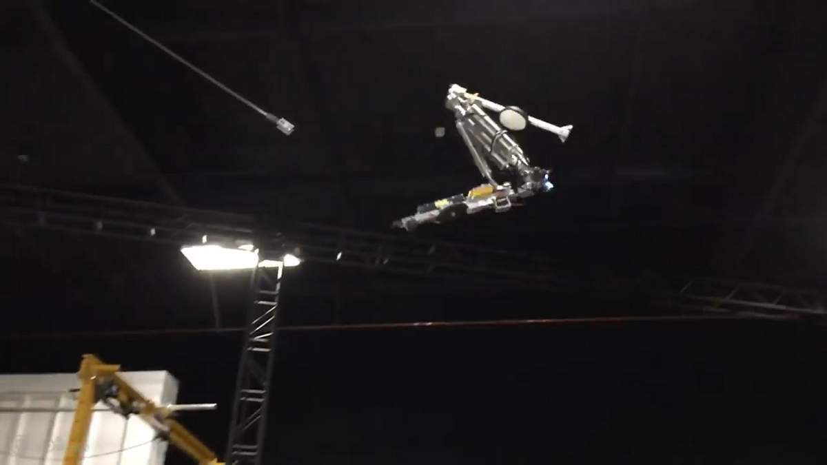Робот Stickman