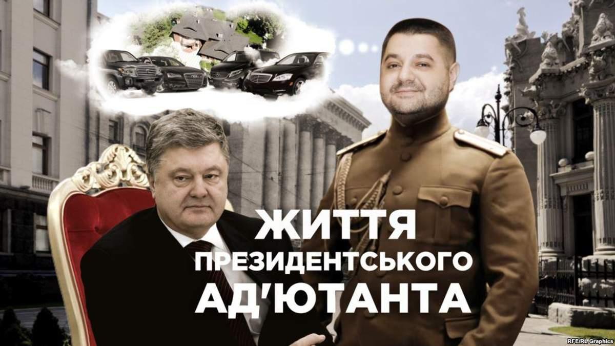 Грановський користується незадекларованим елітним автопарком