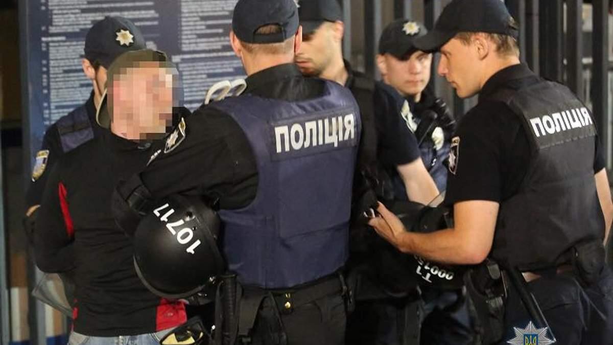 У поліції сповістили про сутички між уболівальниками після фіналу Ліги чемпіонів у Києві