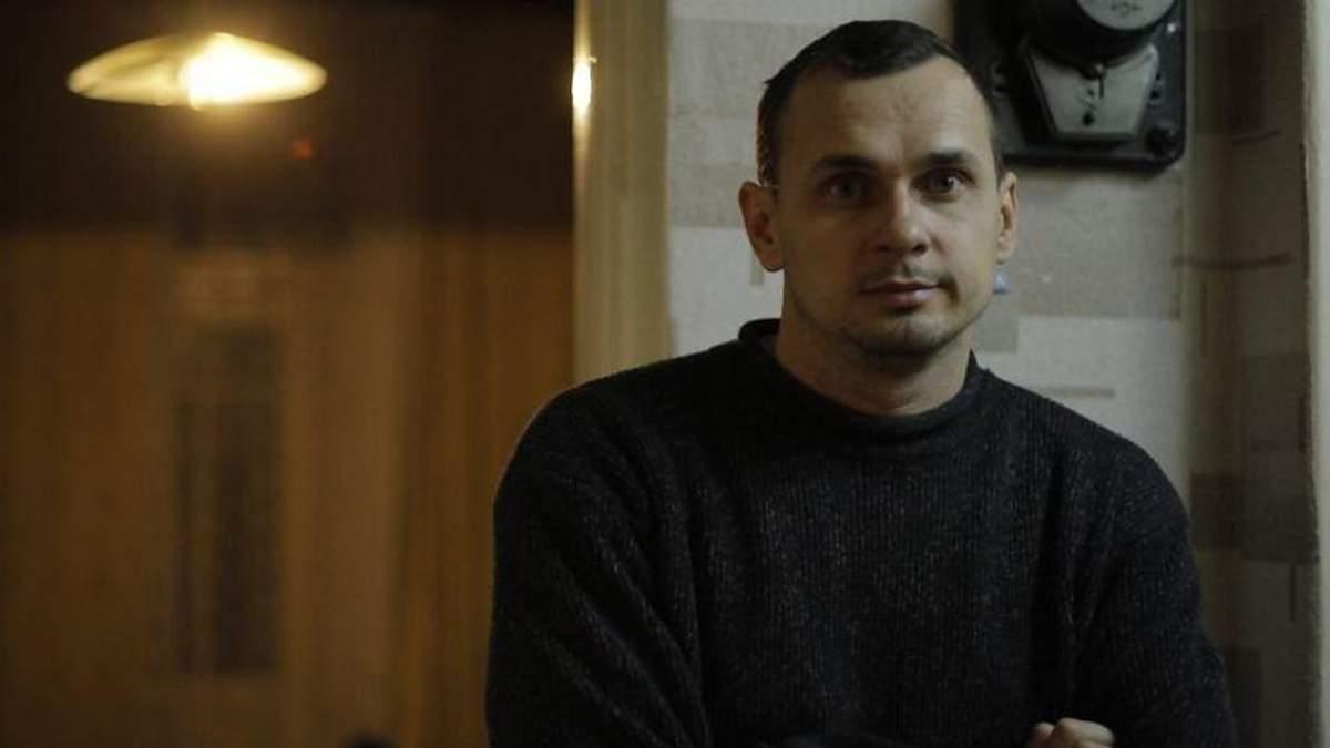 Стало известно о состоянии Сенцова после начала поддерживающей терапии
