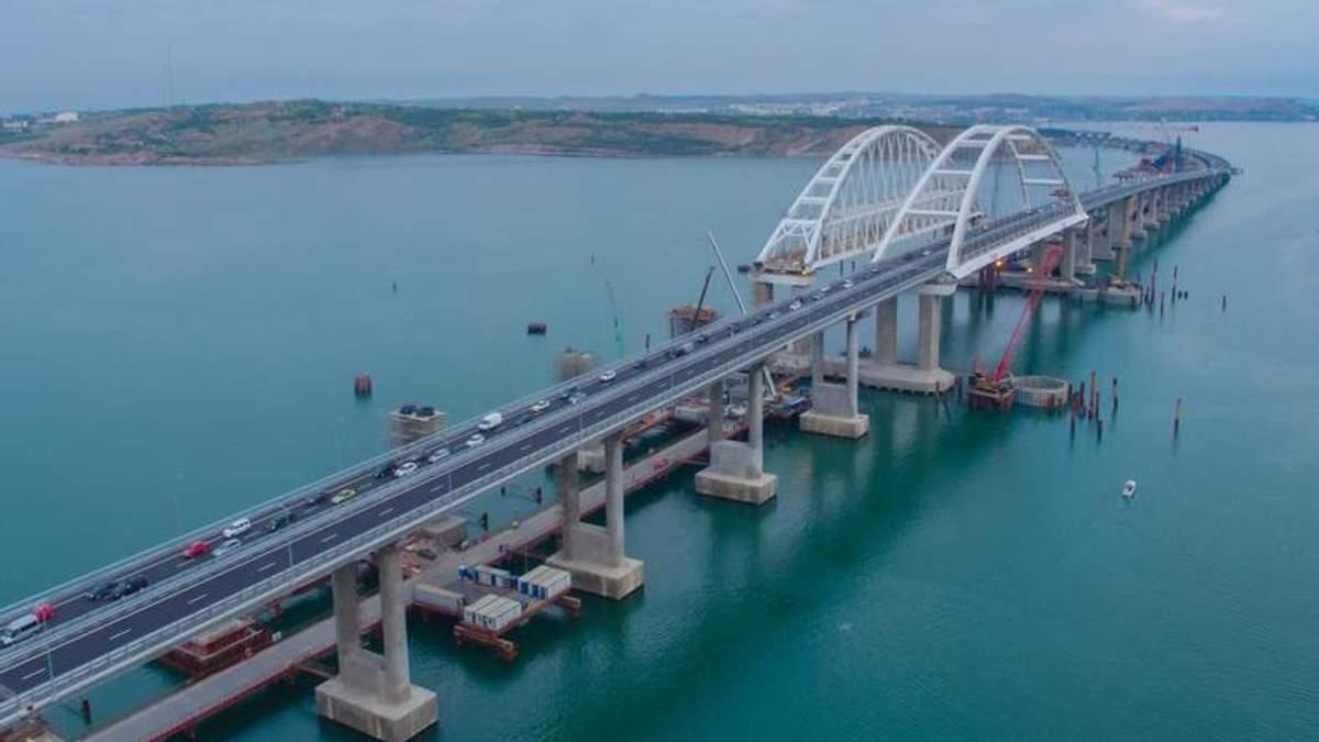 Постпред Порошенка назвав реальну мету будівництва Росією Кримського мосту