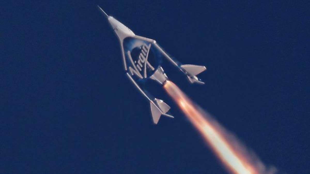 Космічний корабель VSS Unity успішно пройшов випробування