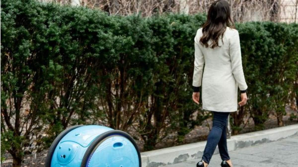 Створили робота-валізу