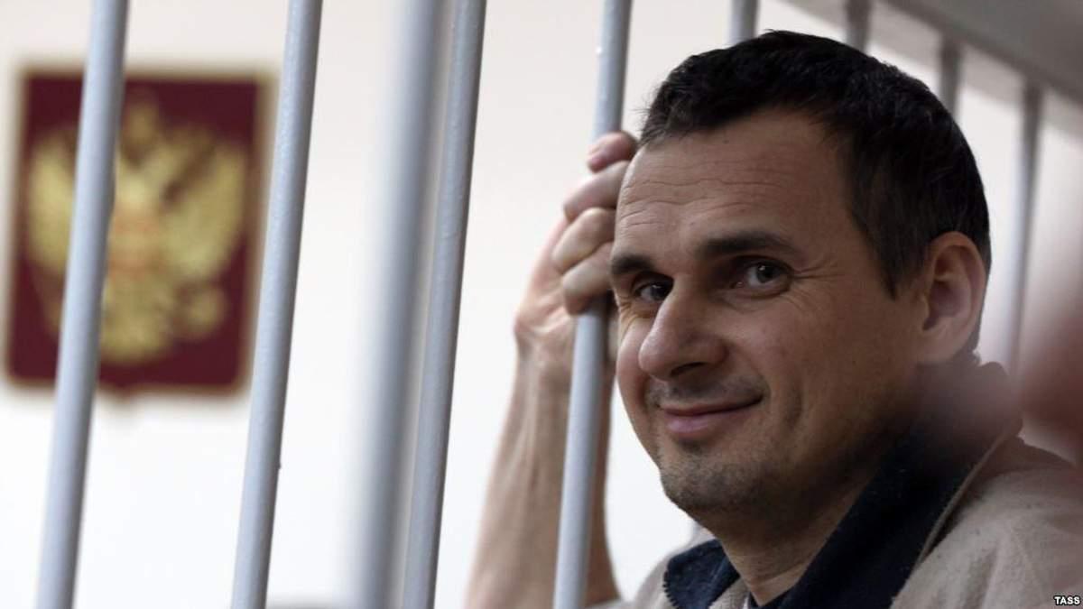 Собчак розповіла про стан Сенцова